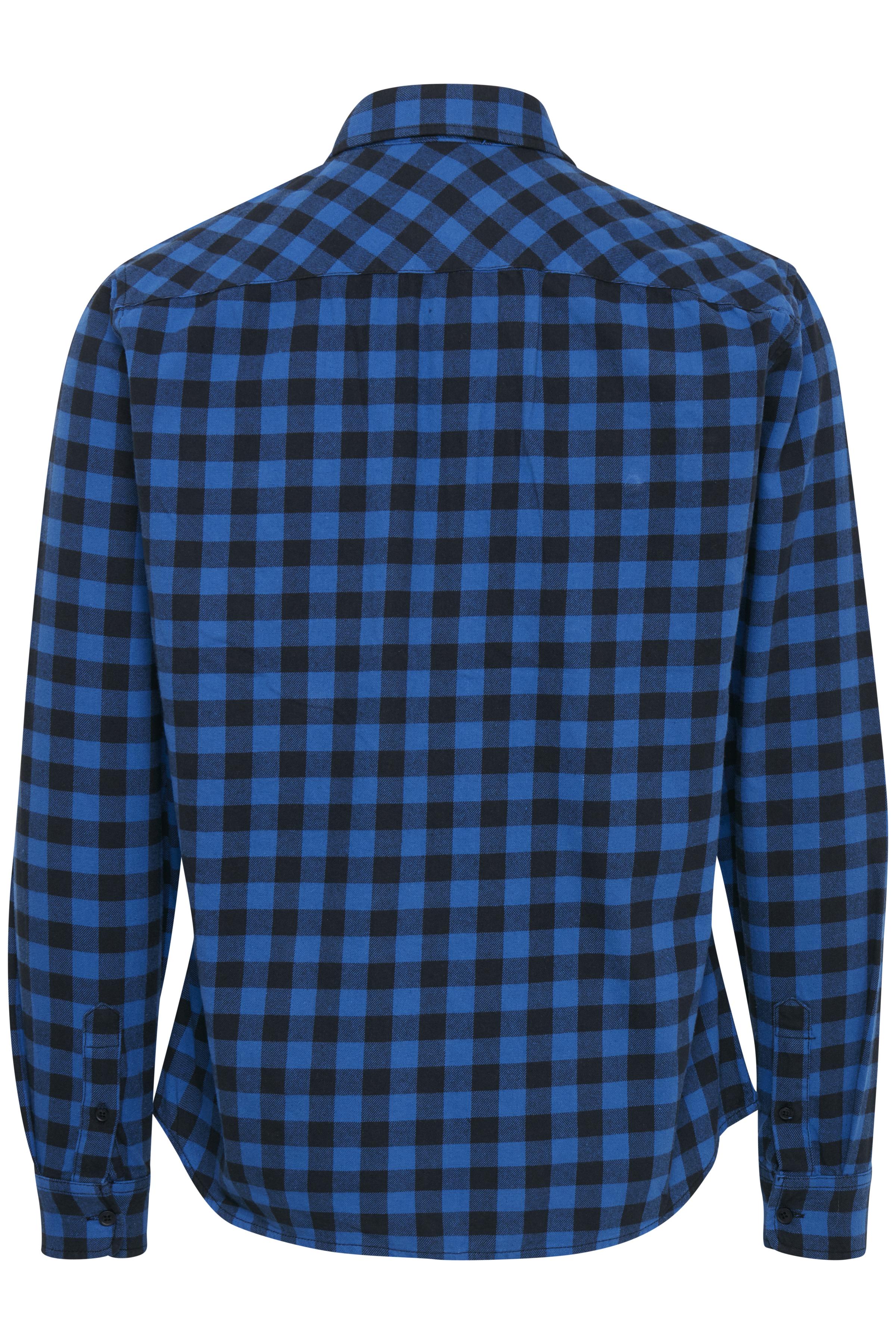 Electric Blue Langærmet skjorte – Køb Electric Blue Langærmet skjorte fra str. S-XL her