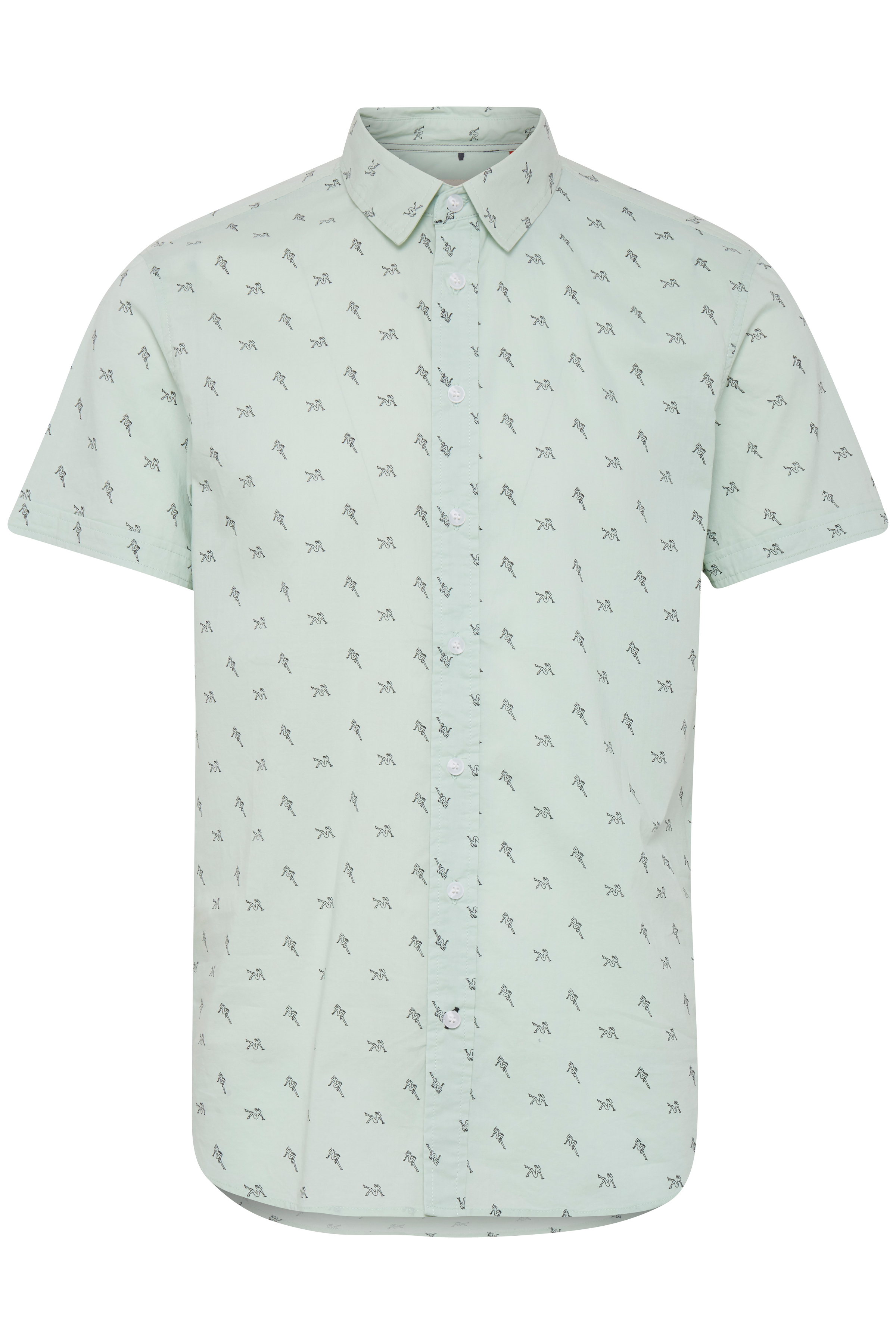 Foam Green Skjorte – Køb Foam Green Skjorte fra str. S-XL her