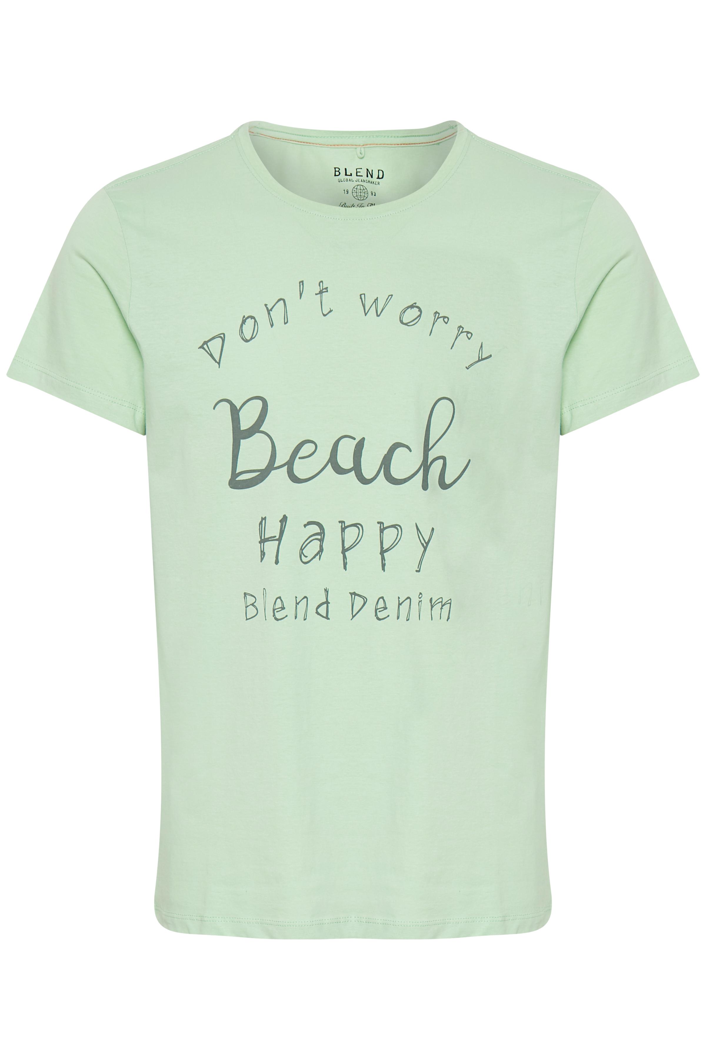 Foam Green T-shirt fra Blend He – Køb Foam Green T-shirt fra str. S-XL her