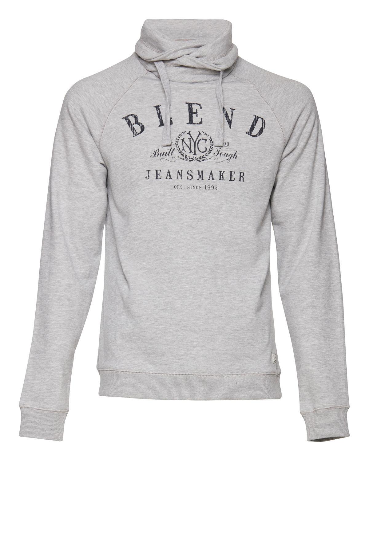 Gråmeleret Sweatshirt – Køb Gråmeleret Sweatshirt fra str. S-XL her