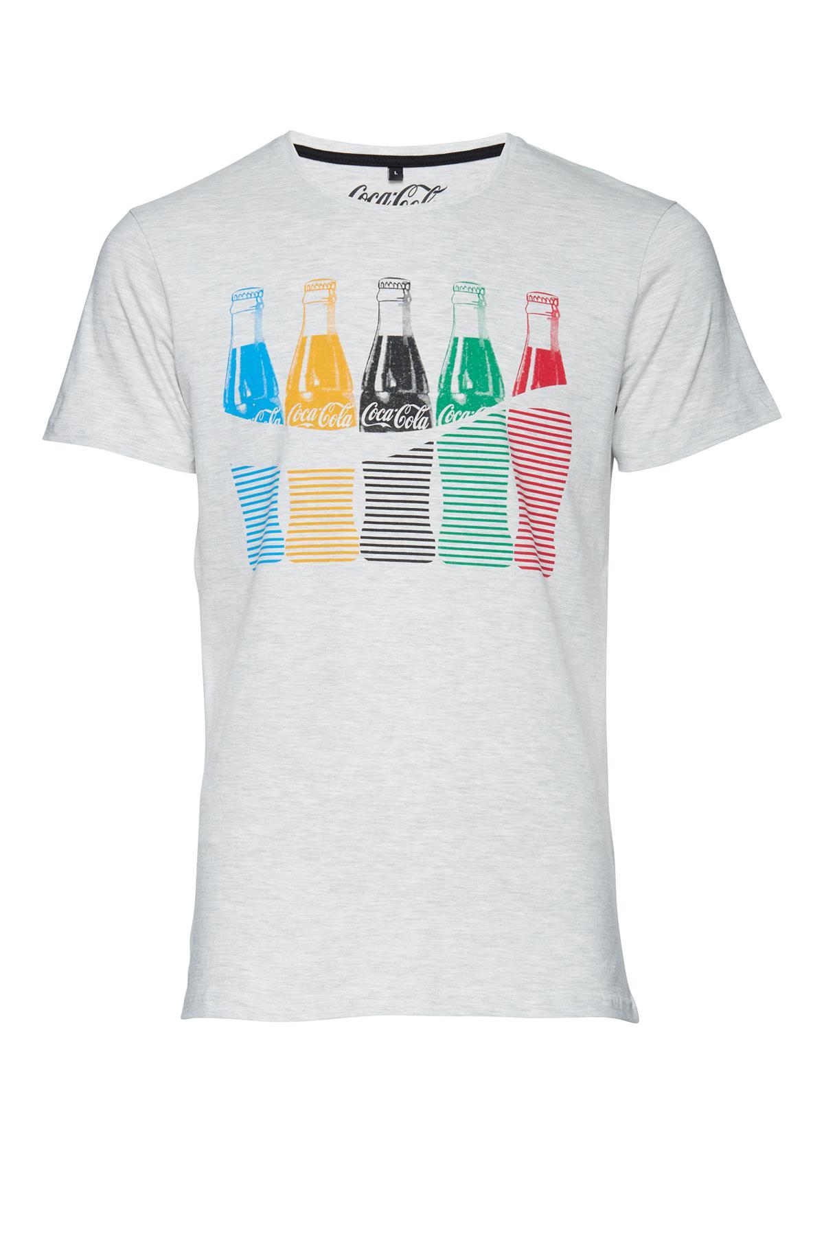 Gråmeleret T-shirt – Køb Gråmeleret T-shirt fra str. S-XL her