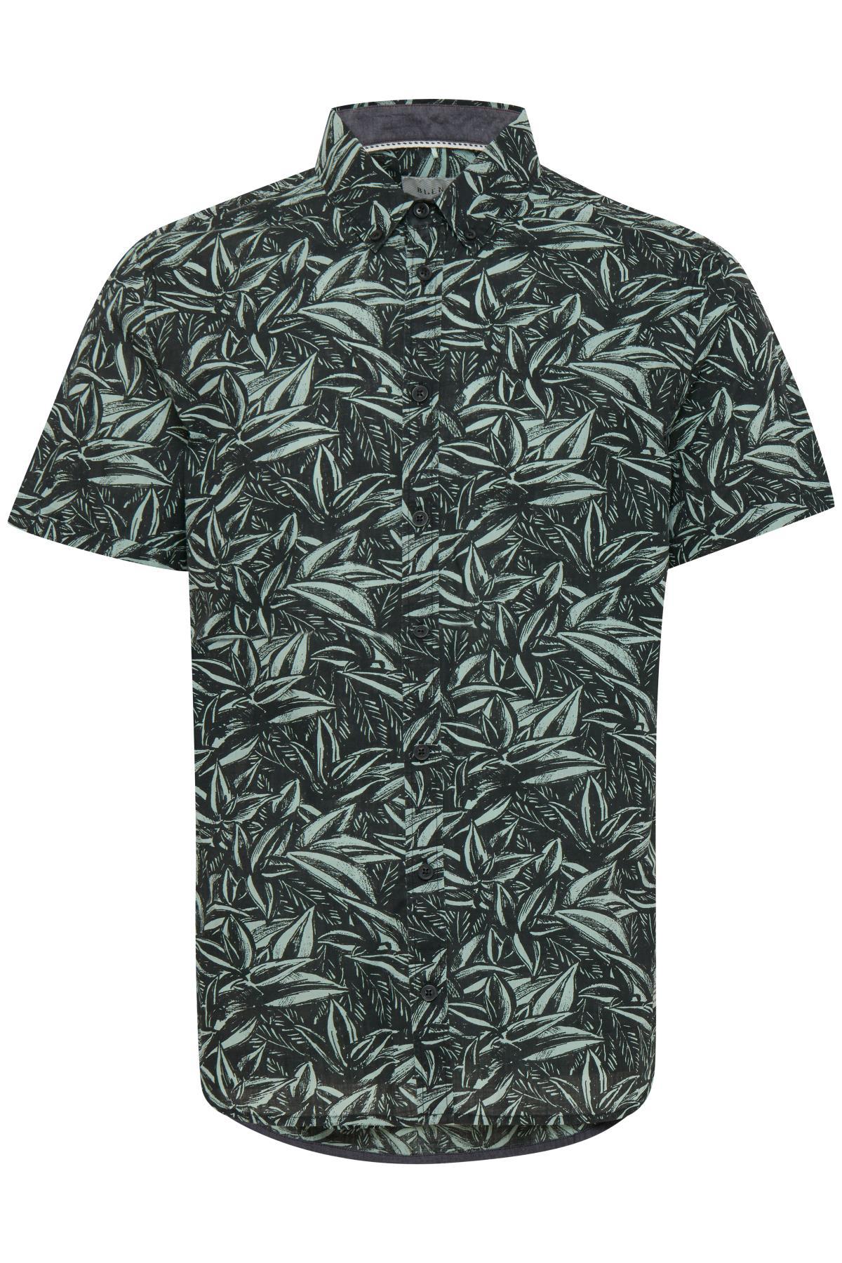 Granite Green Shirt fra Blend He – Køb Granite Green Shirt fra str. S-XXL her