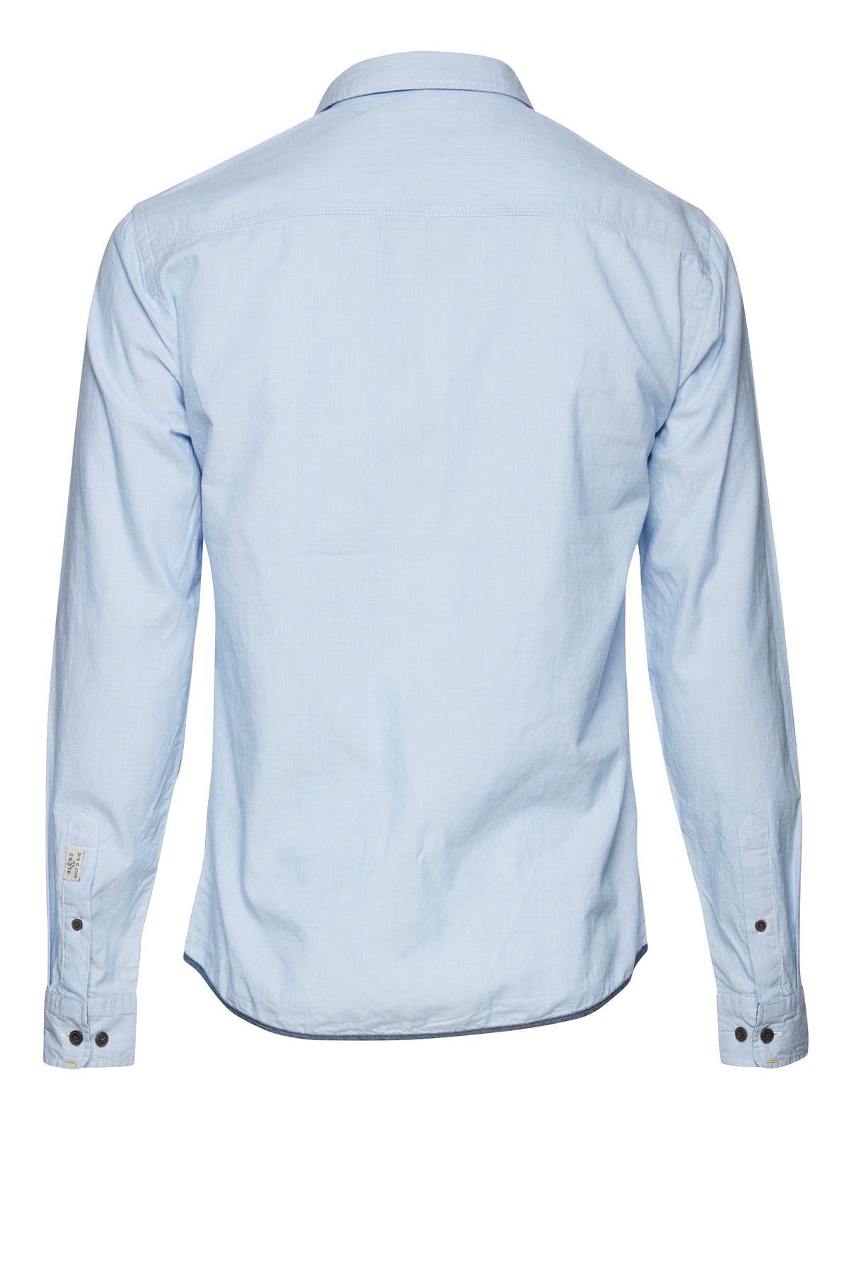 Long sleeved shirt fra Blend He – Køb  Long sleeved shirt fra str. S-XL her