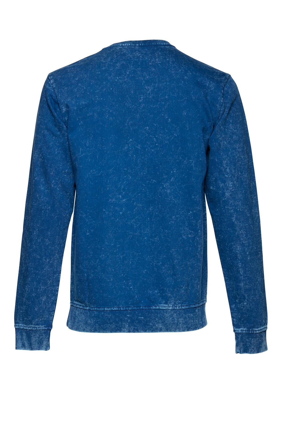 Marineblå Sweatshirt – Køb Marineblå Sweatshirt fra str. M-XXL her