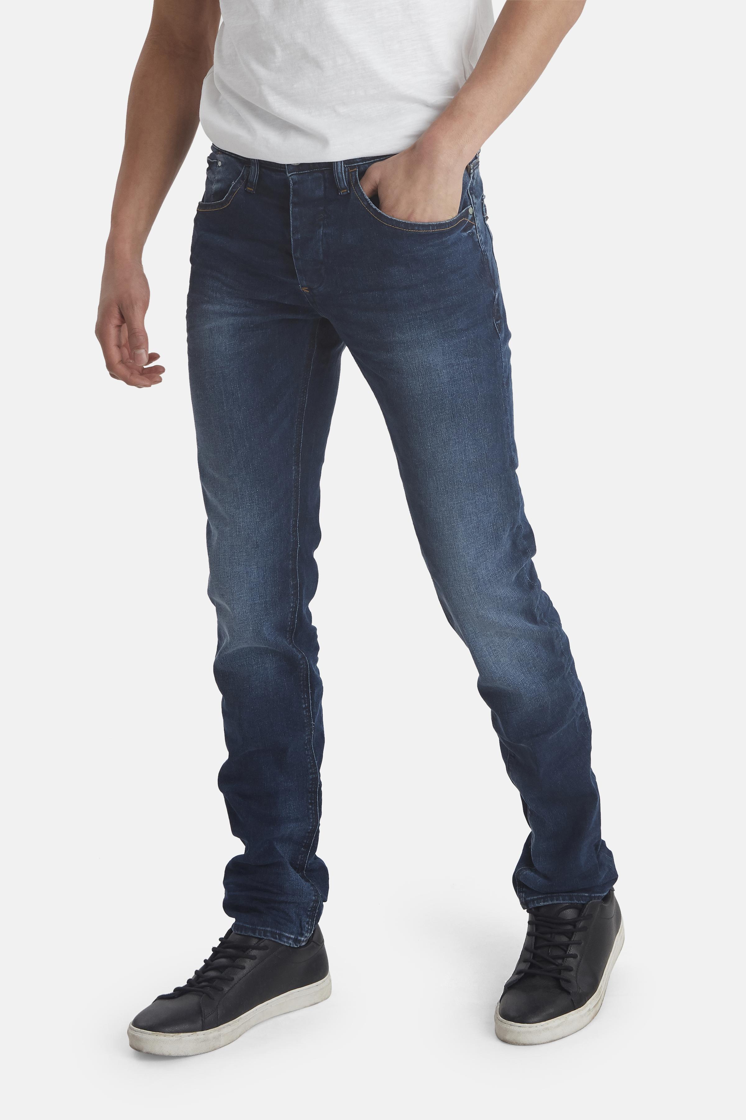 Middle Blue Twister jeans fra Blend He – Køb Middle Blue Twister jeans fra str. 29-40 her
