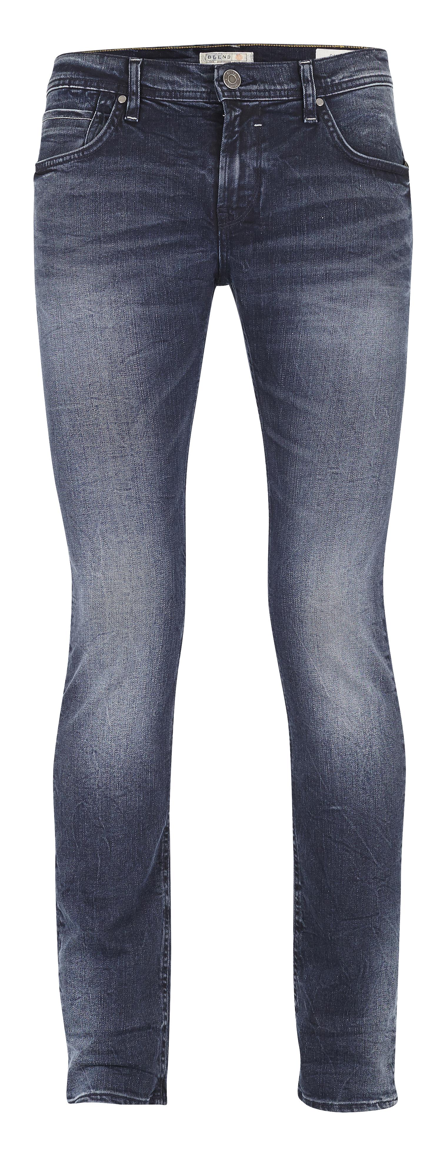 Middle Blue Twister jeans fra Blend He – Køb Middle Blue Twister jeans fra str. 31-36 her