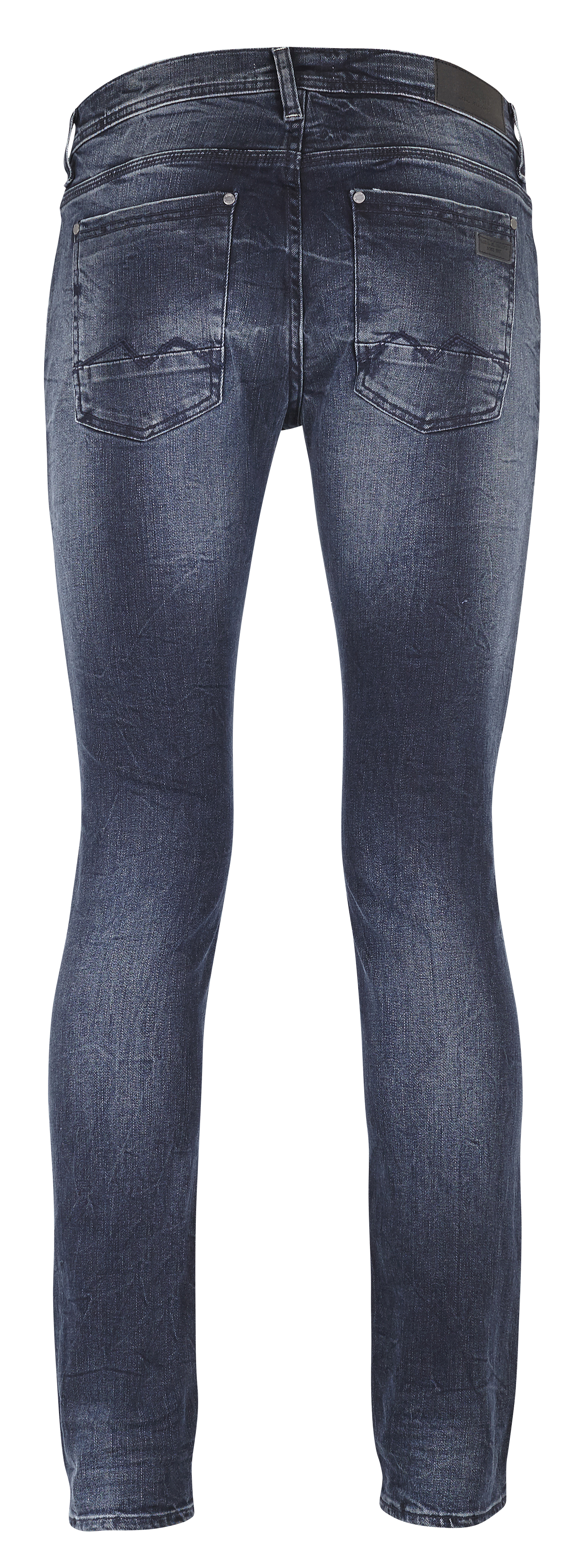 Middle Blue Twister jeans – Køb Middle Blue Twister jeans fra str. 31-36 her