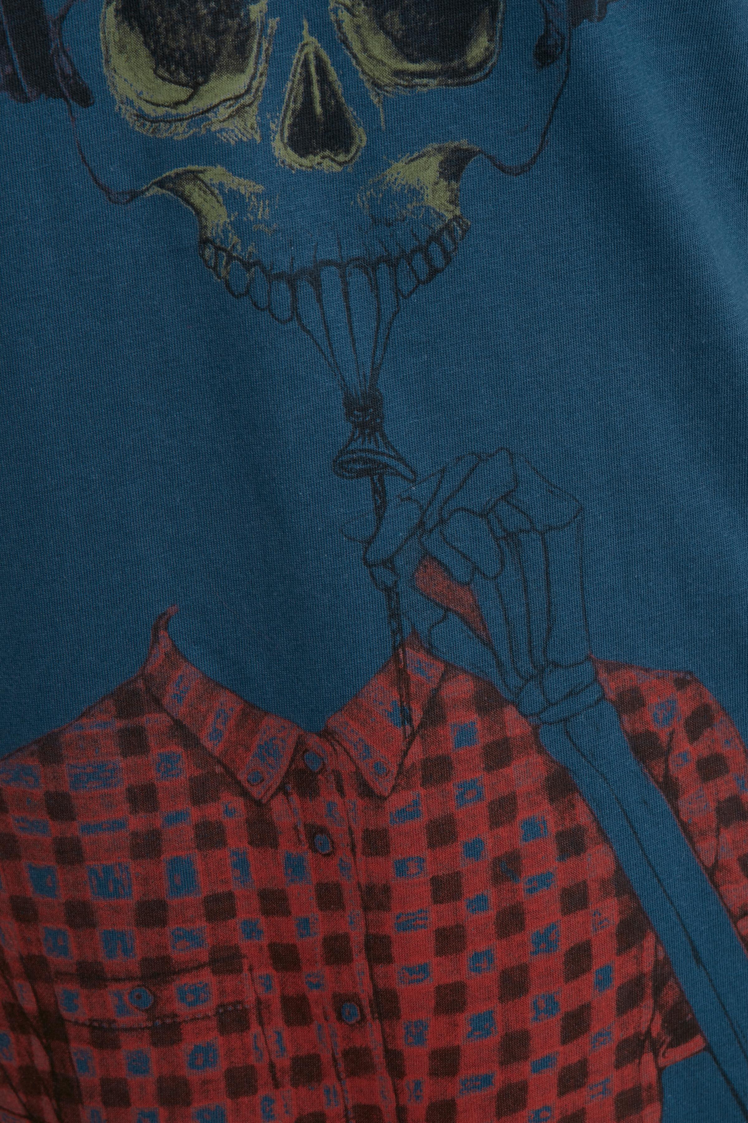 Mørkeblå T-shirt – Køb Mørkeblå T-shirt fra str. S-XXL her