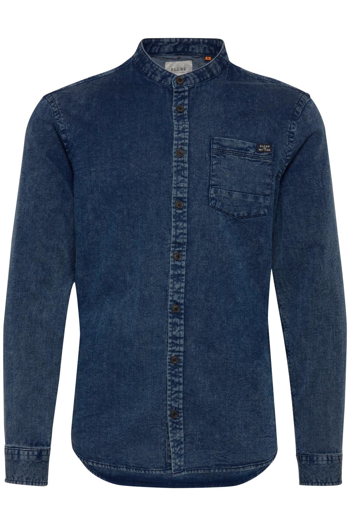 Mood Indigo Blue Langærmet skjorte – Køb Mood Indigo Blue Langærmet skjorte fra str. S-XXL her