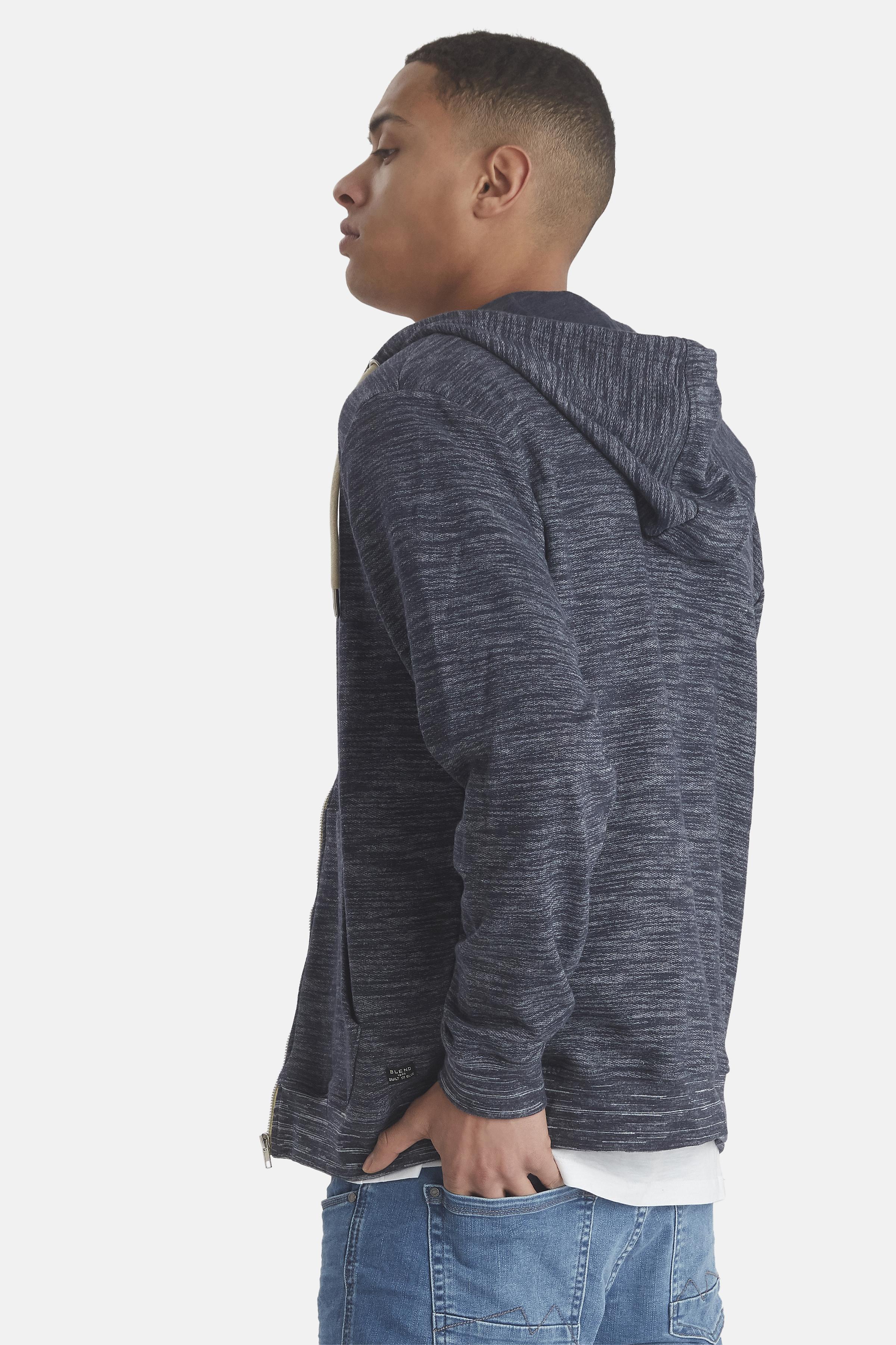 Navy Sweatshirt fra Blend He – Køb Navy Sweatshirt fra str. S-3XL her
