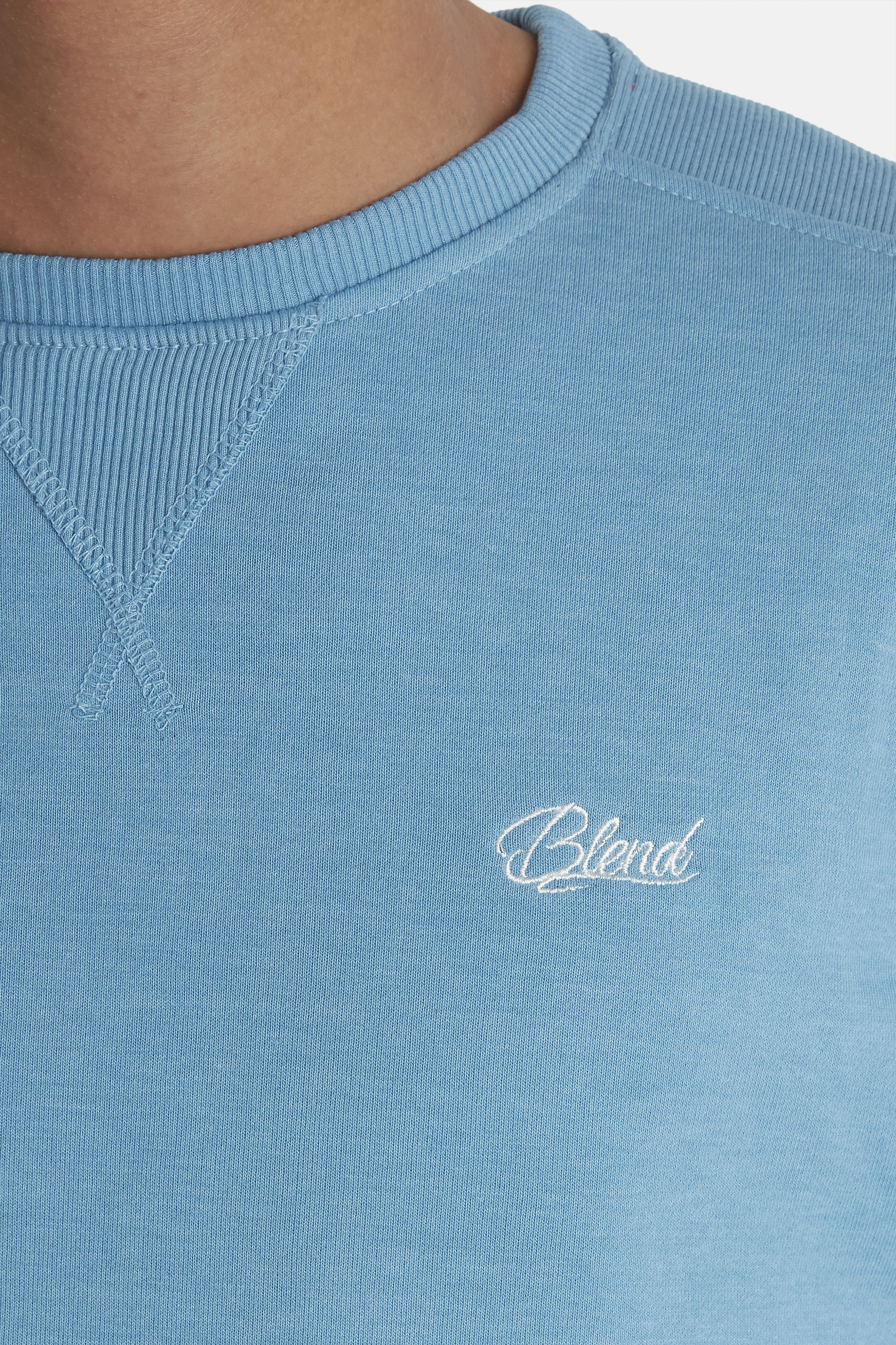 Niagara Blue Sweatshirt – Køb Niagara Blue Sweatshirt fra str. M-3XL her