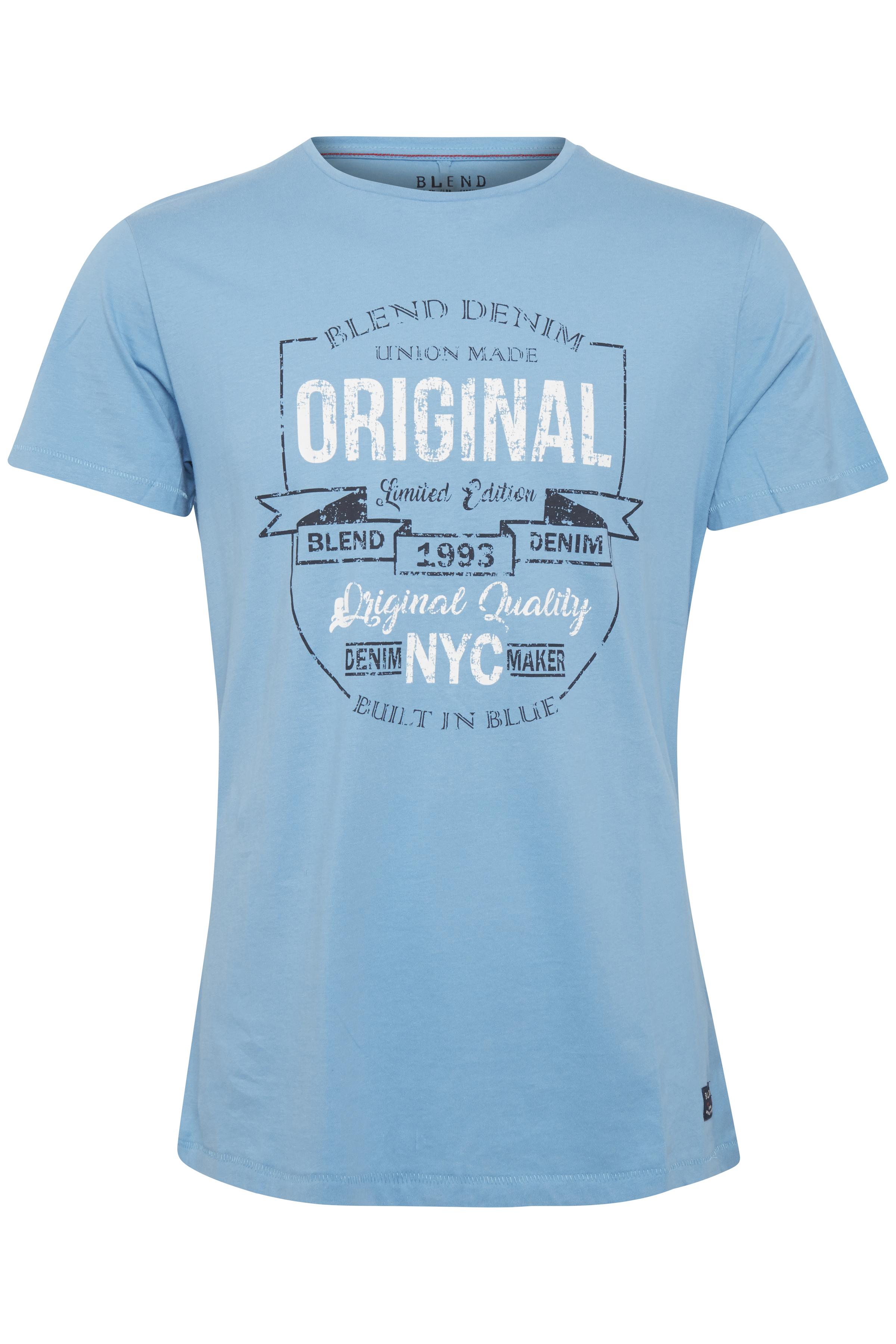 Niagara Blue T-shirt – Køb Niagara Blue T-shirt fra str. S-XXL her