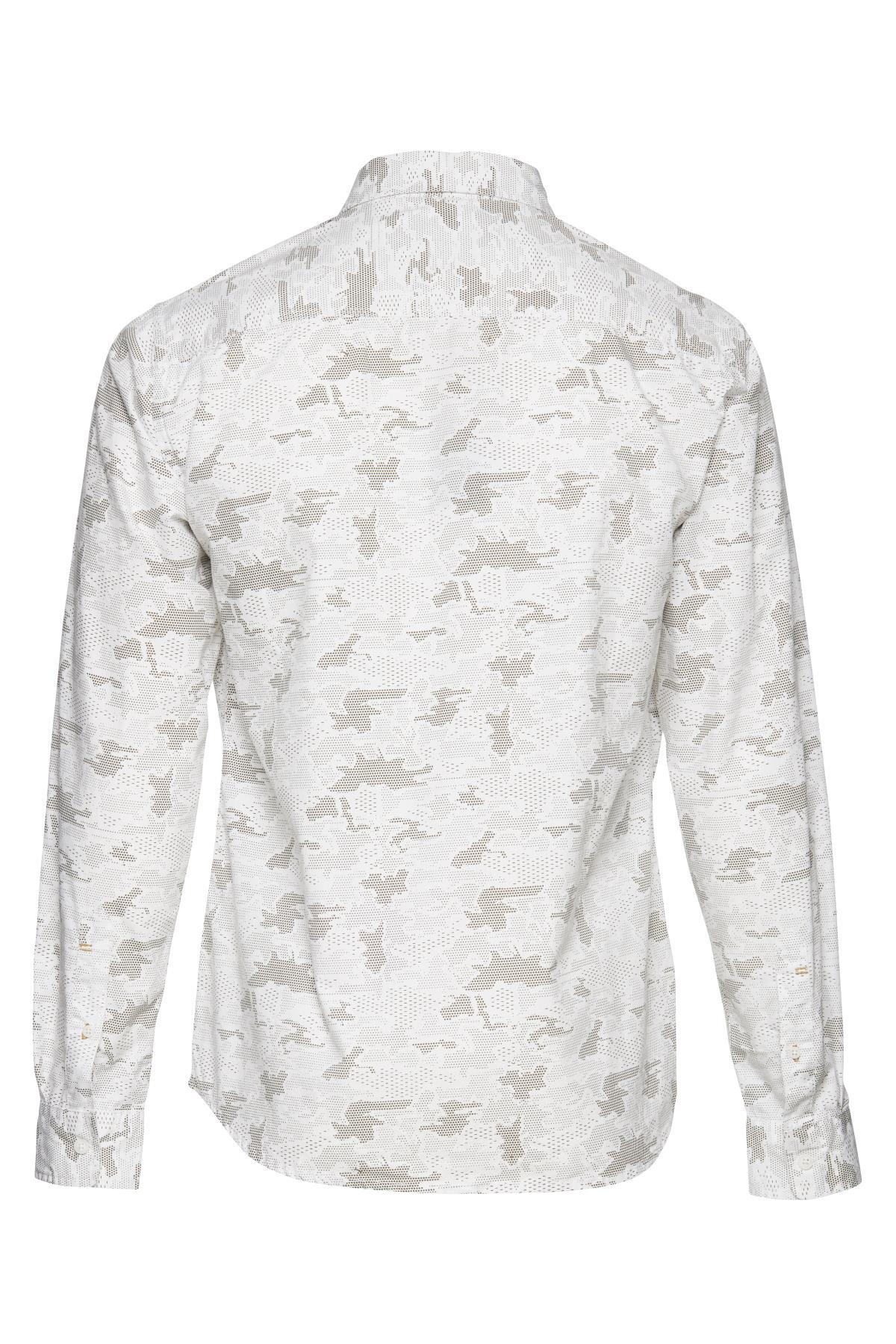 Off-white/khaki Langærmet skjorte – Køb Off-white/khaki Langærmet skjorte fra str. M-XXL her