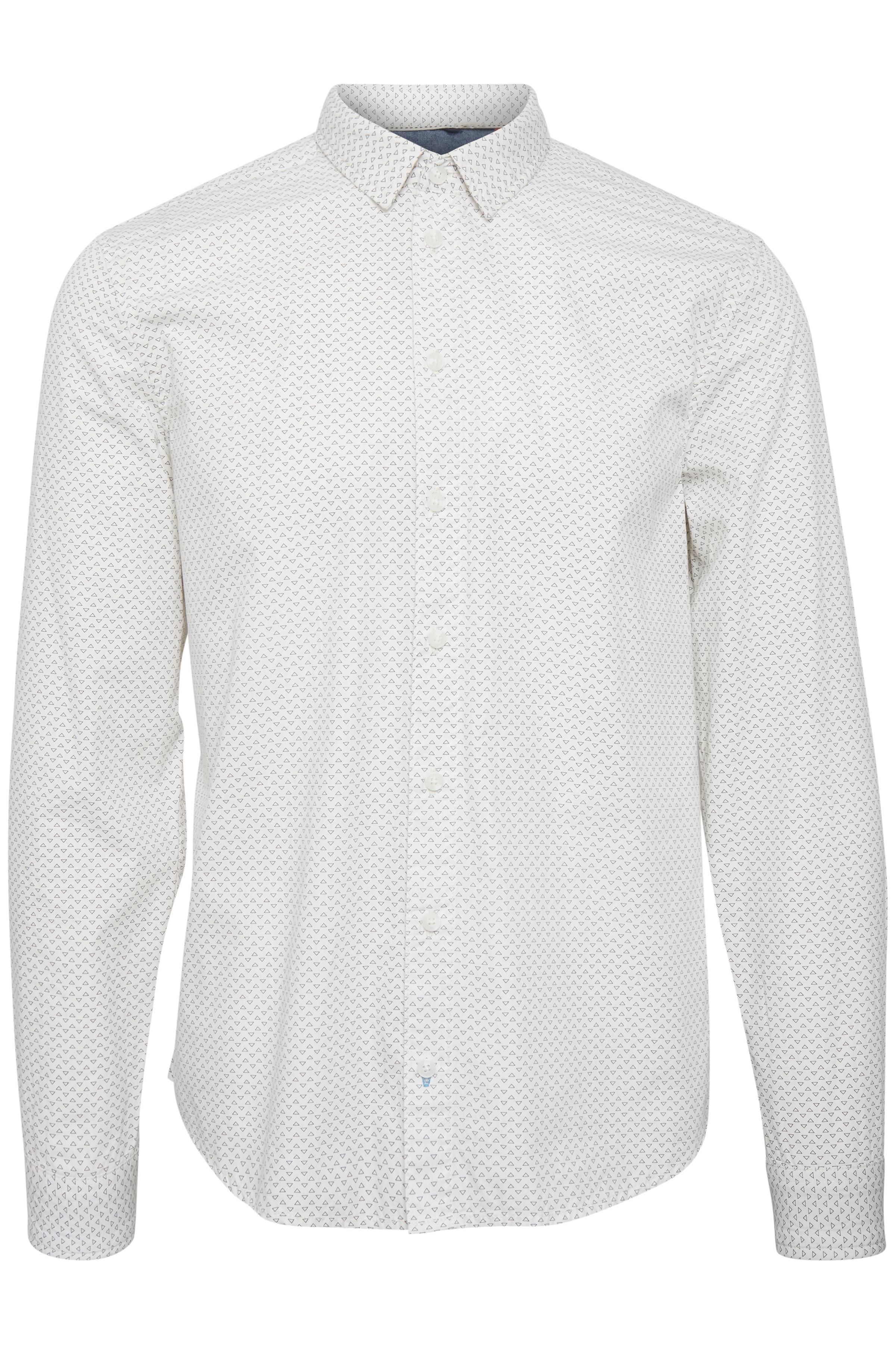 Offwhite Long sleeved shirt fra Blend He – Køb Offwhite Long sleeved shirt fra str. M-XXL her