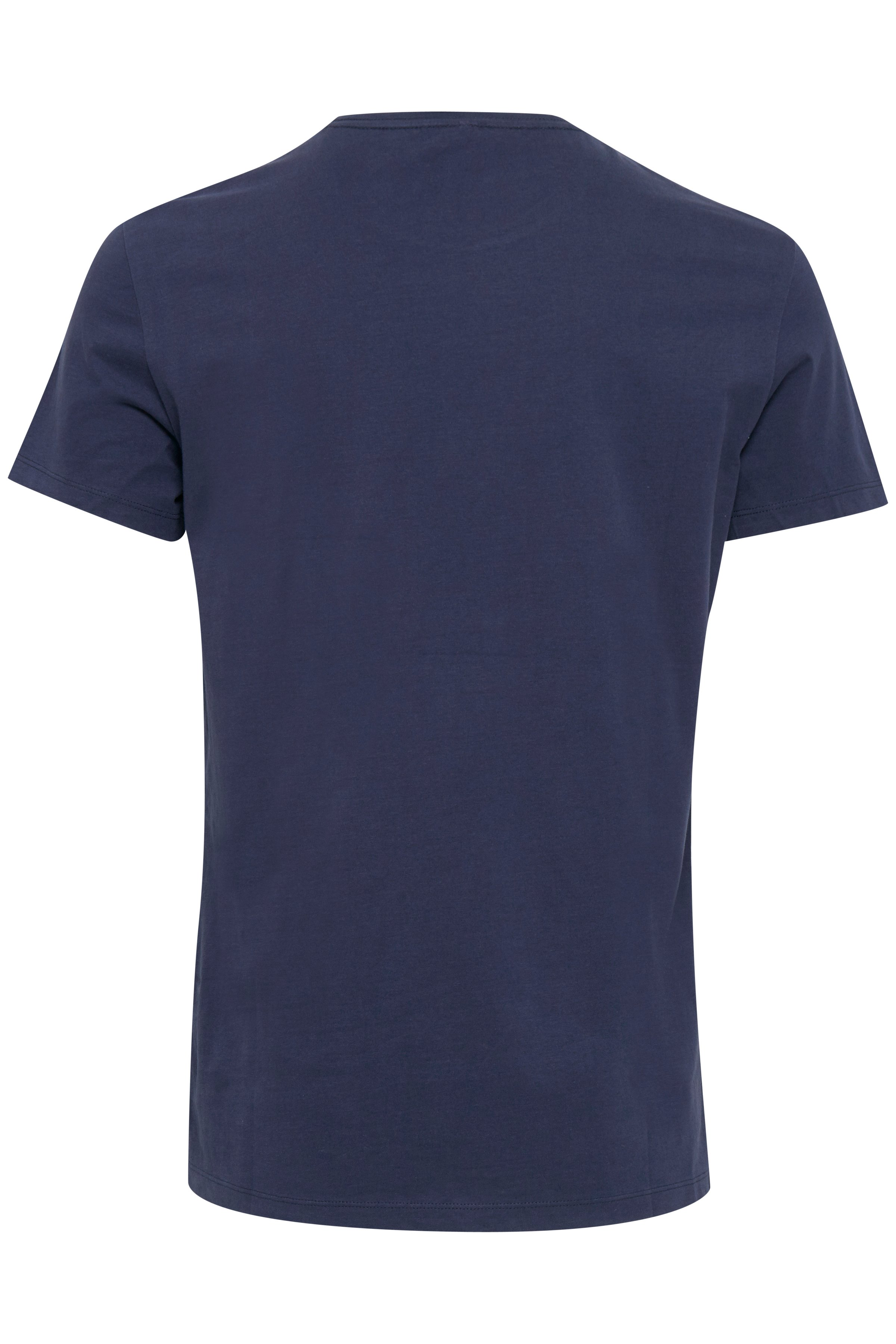Peacoat Blue T-shirt – Køb Peacoat Blue T-shirt fra str. S-XXL her