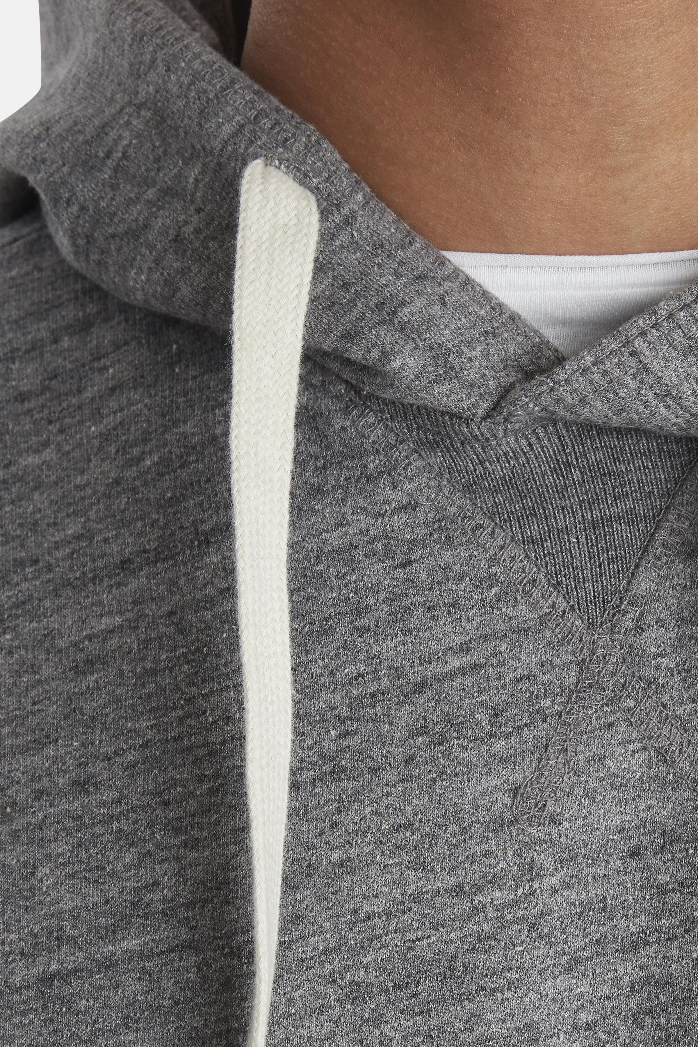 Pewter mix Hooded blouse fra Blend He – Køb Pewter mix Hooded blouse fra str. S-3XL her