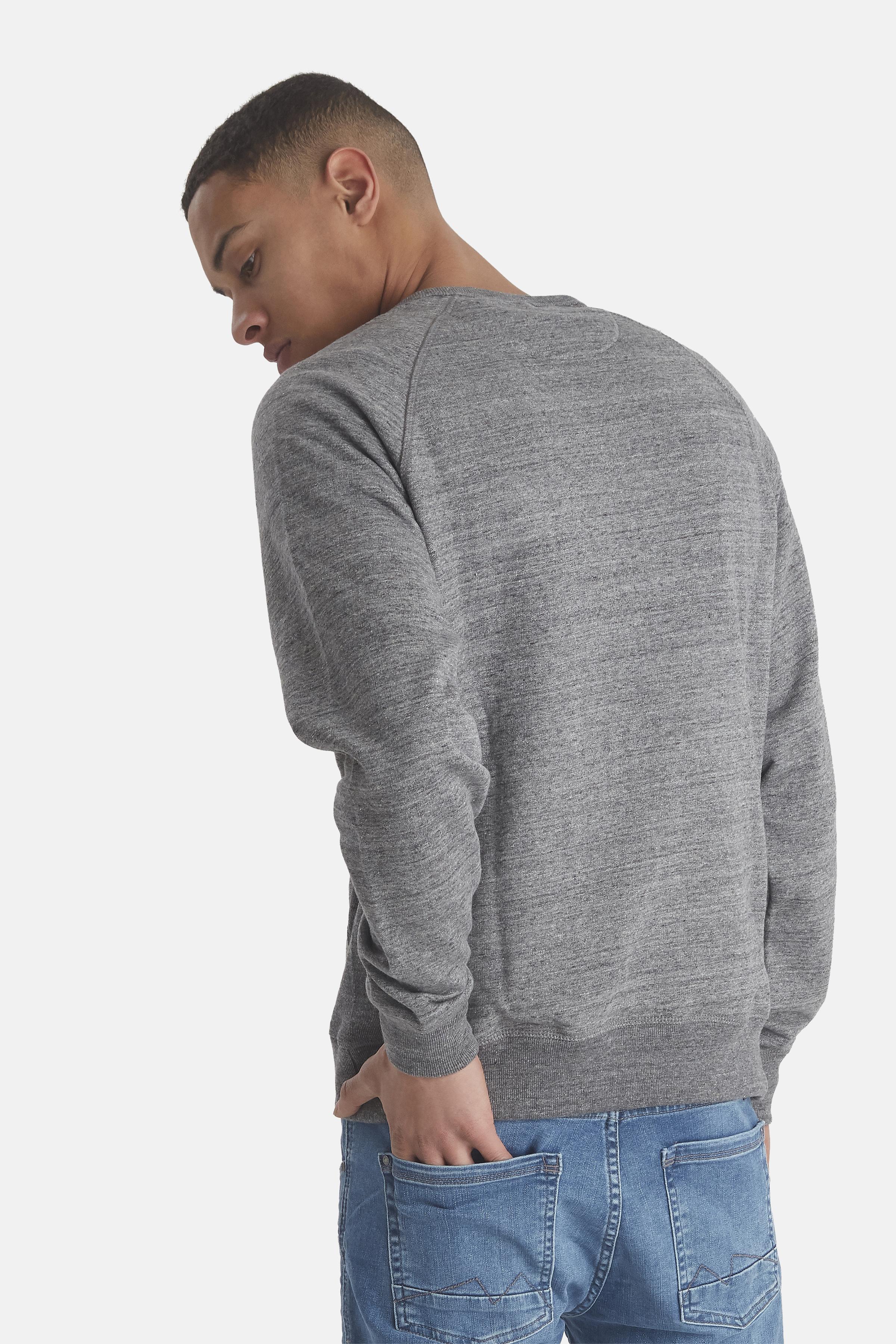Pewter mix Sweatshirt fra Blend He – Køb Pewter mix Sweatshirt fra str. S-3XL her