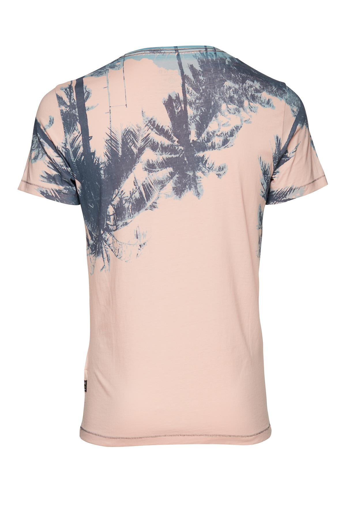 Rosa/grå T-shirt – Køb Rosa/grå T-shirt fra str. M-XXL her