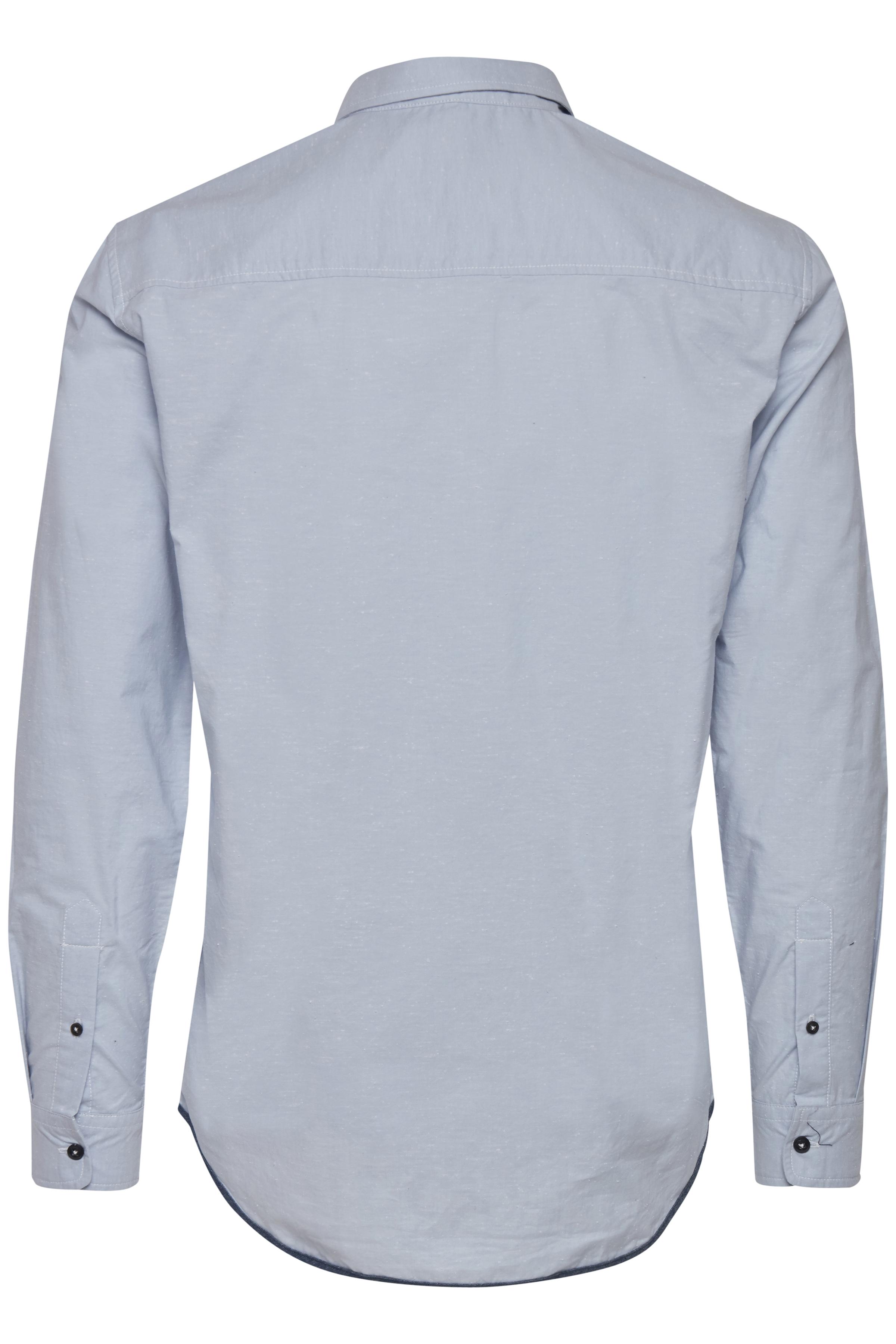 Soft Blue Long sleeved shirt fra Blend He – Køb Soft Blue Long sleeved shirt fra str. S-3XL her