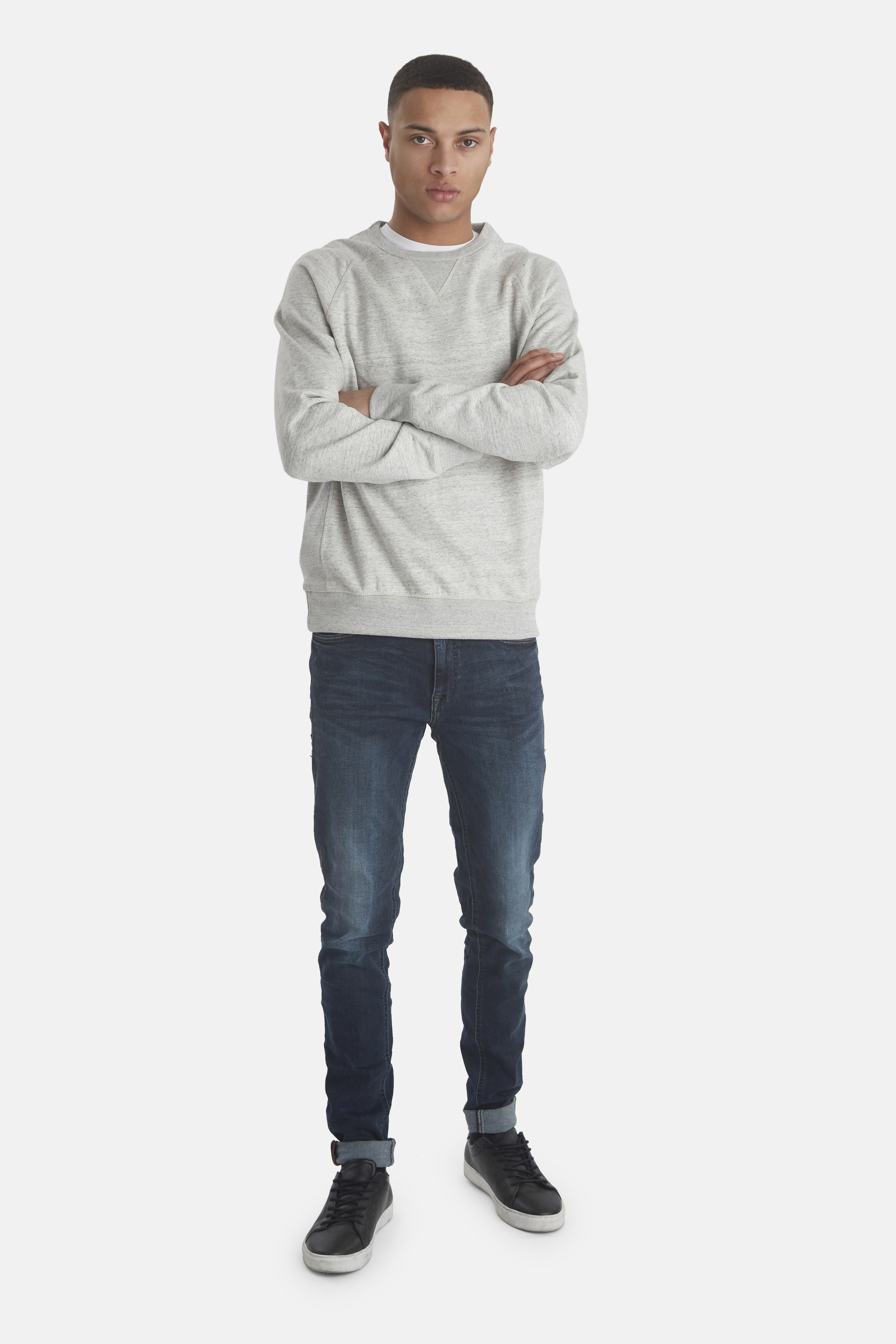 Stone mix Sweatshirt – Køb Stone mix Sweatshirt fra str. S-3XL her