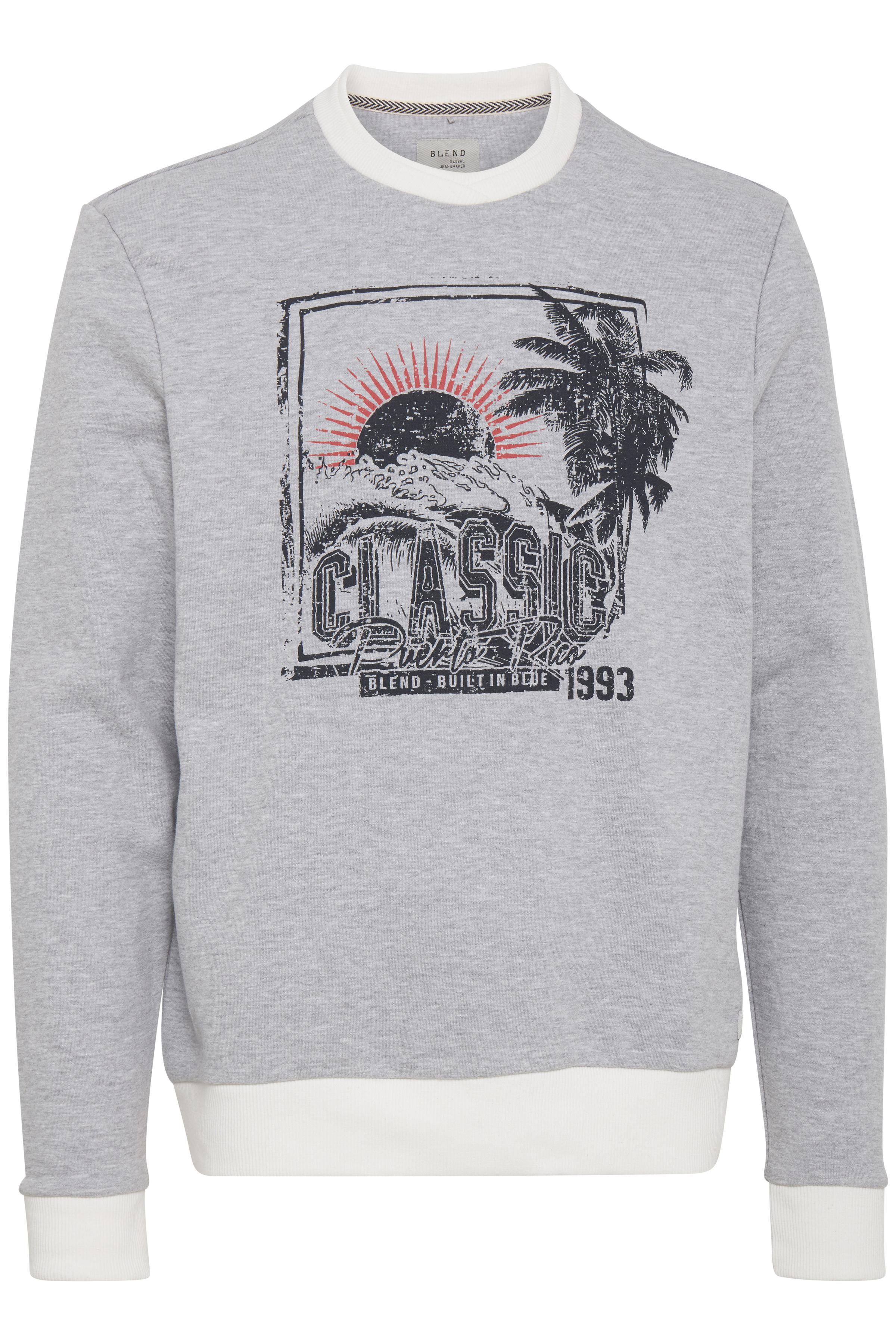 Stone mix Sweatshirt fra Blend He – Køb Stone mix Sweatshirt fra str. S-XXL her