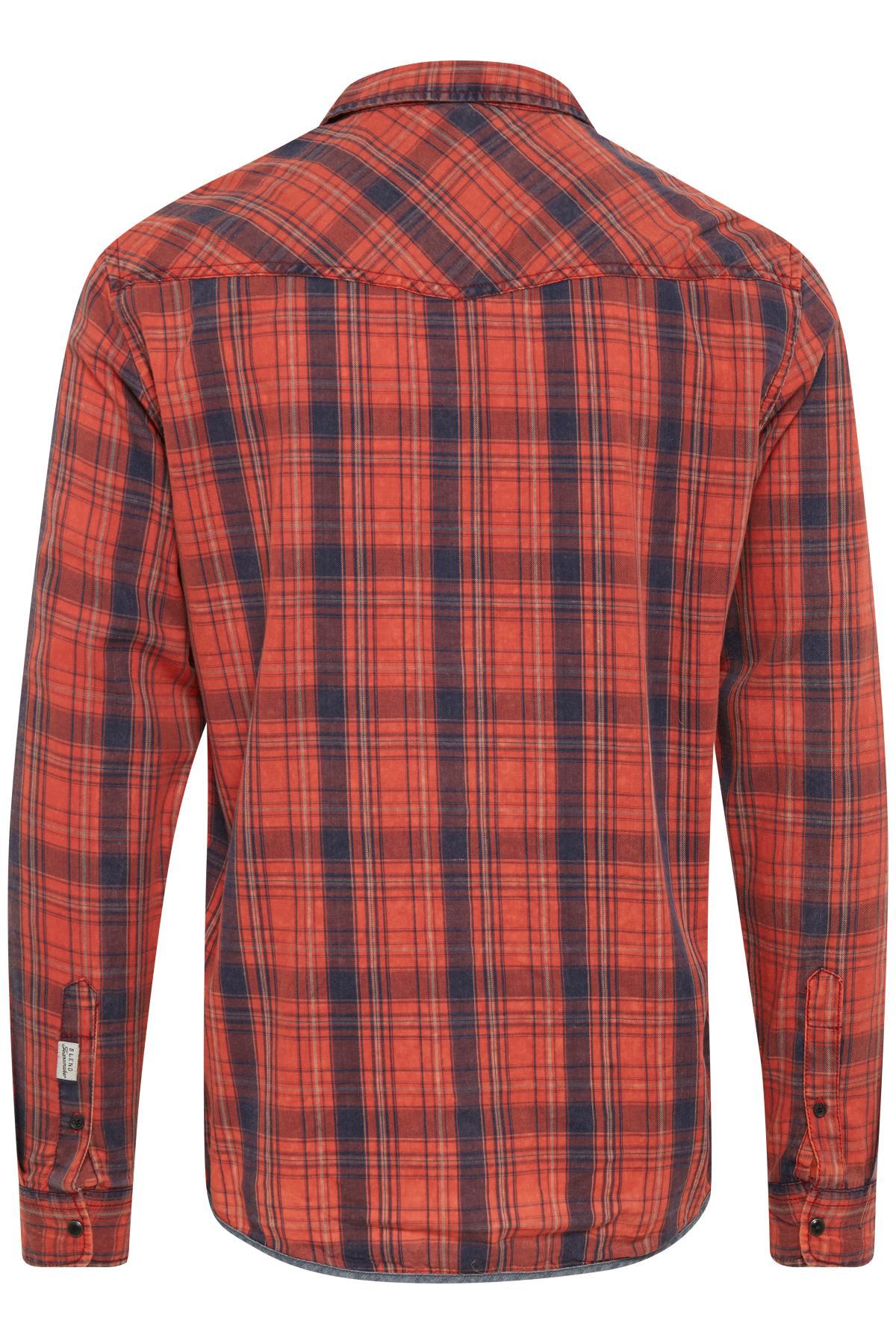 Tandori Red Langærmet skjorte – Køb Tandori Red Langærmet skjorte fra str. S-XXL her