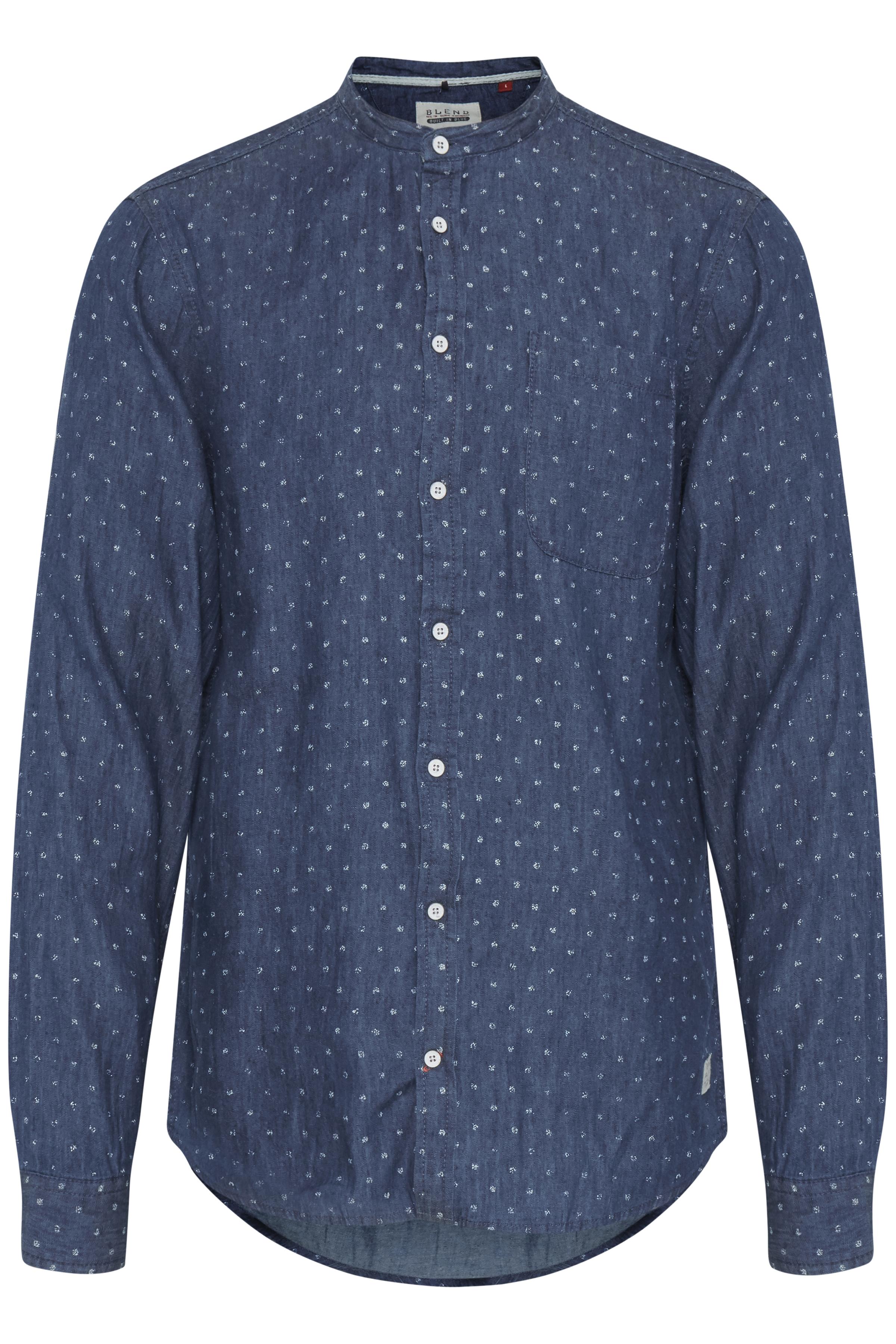 White Langærmet skjorte – Køb White Langærmet skjorte fra str. S-XL her