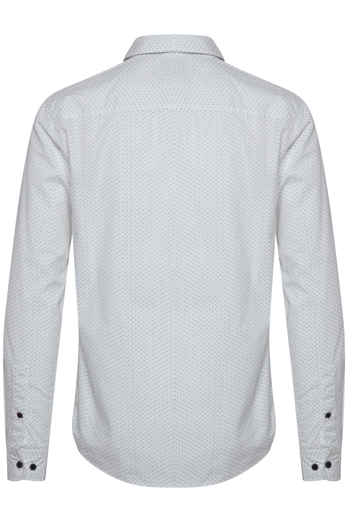 White Long sleeved shirt fra Blend He – Køb White Long sleeved shirt fra str. S-XXL her
