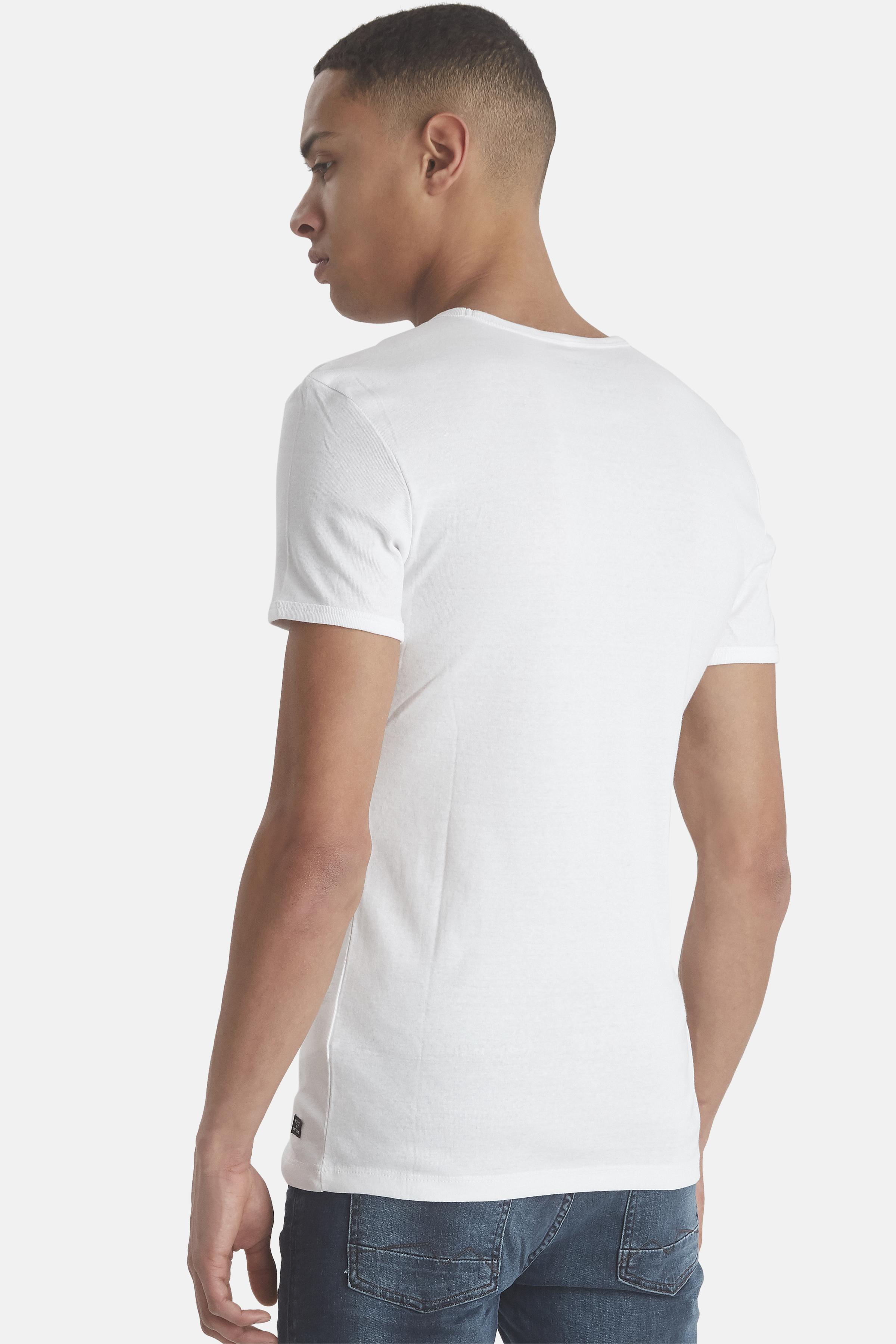 White T-shirt fra Blend He – Køb White T-shirt fra str. S-3XL her