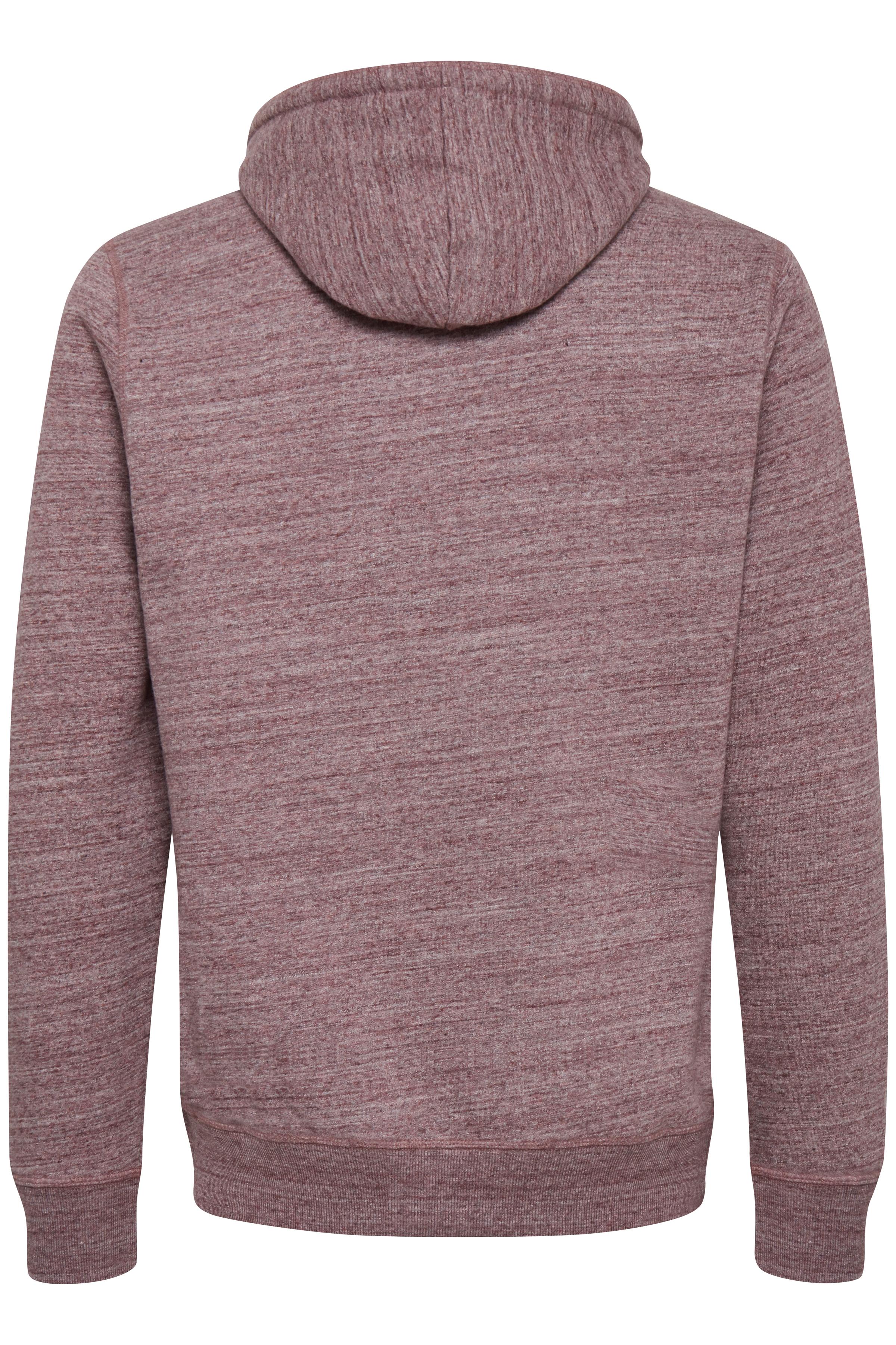 Wine red Hooded blouse fra Blend He – Køb Wine red Hooded blouse fra str. XXL-3XL her