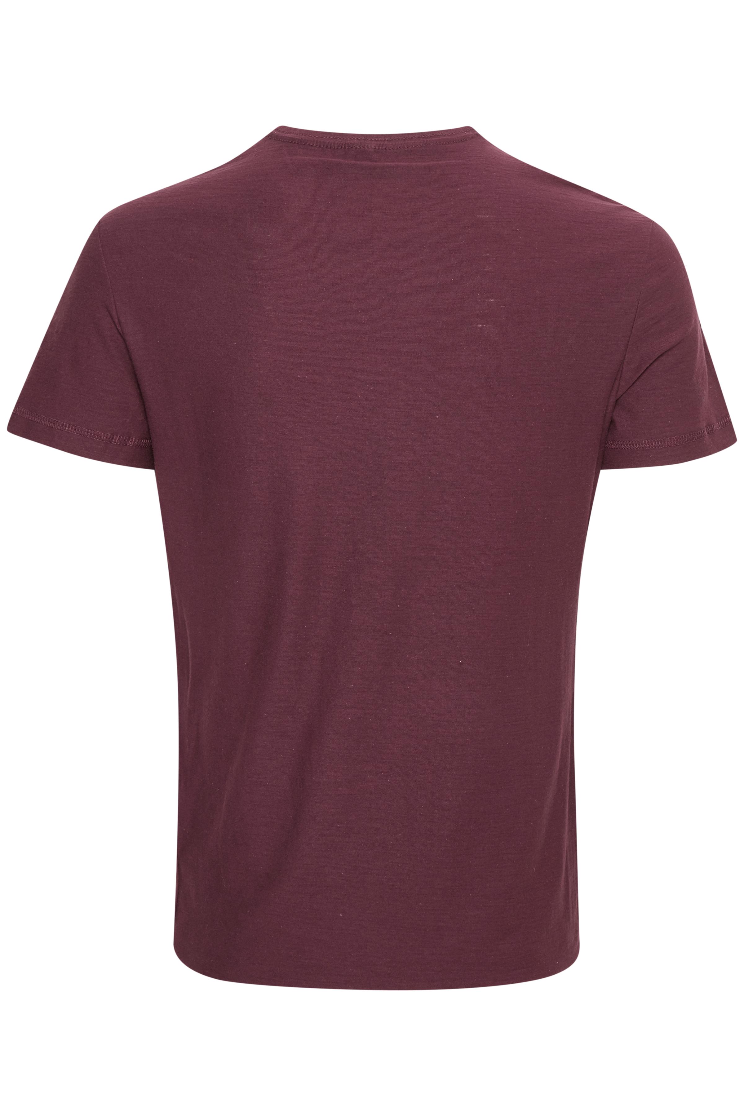 Wine red T-shirt – Køb Wine red T-shirt fra str. S-XXL her