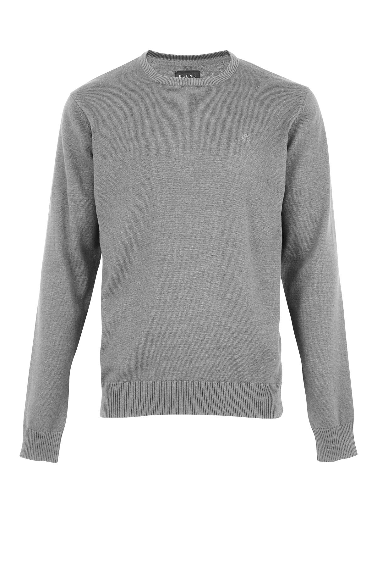 Zink mix Knitted pullover fra Blend He – Køb Zink mix Knitted pullover fra str. S-XXL her